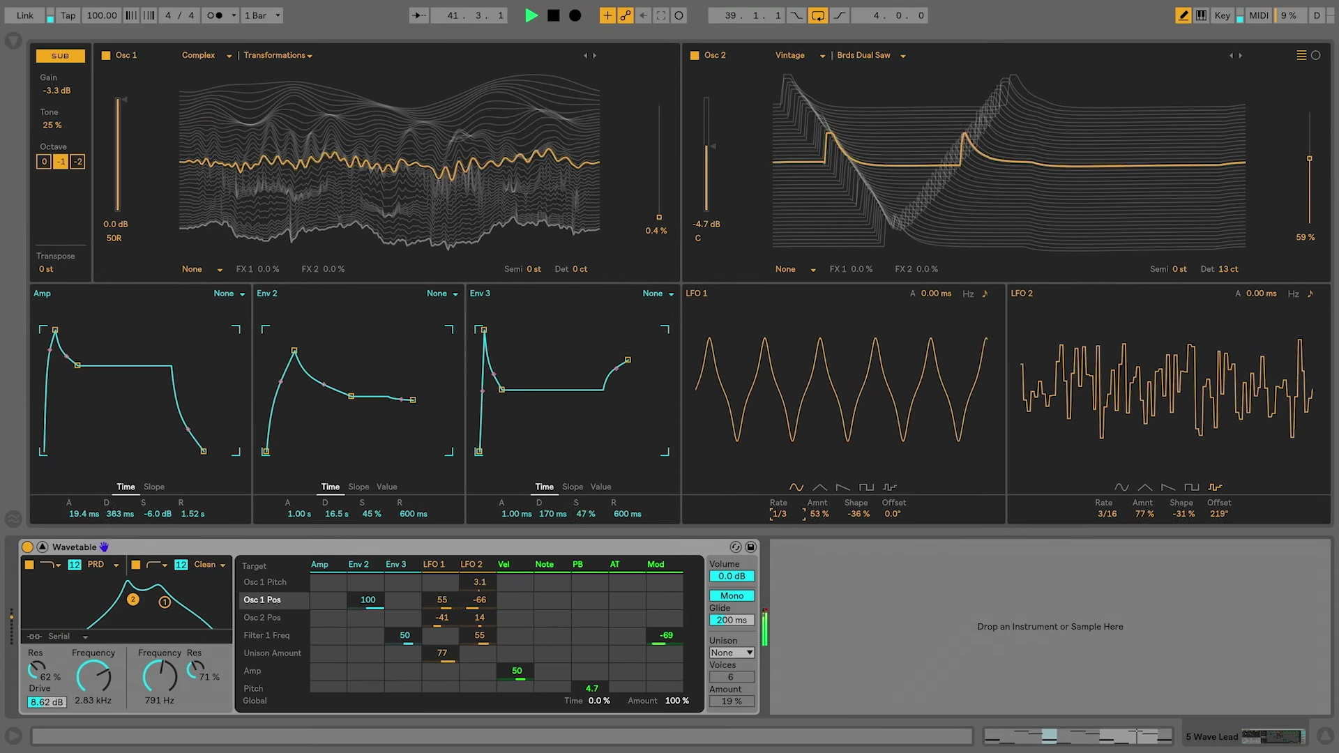 WavetableSynth