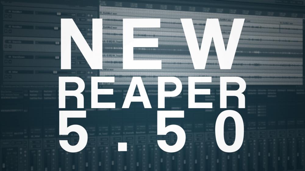 New Reaper Realise 5 50